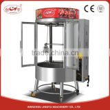 Chuangyu Alibaba China Gas And Charcoal Duck Baking Roaster Oven With 0.31Kg/h Gas Consumption
