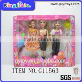 Best sale oem company cheap plastic black dolls