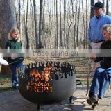 Fire pit used in outdoors