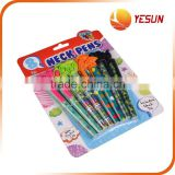 Colorful Pen Sets, PP Pens,Set of 8 pcs Pens