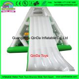 2017 funny games water climbing slide, 5.5m long inflatable climbing tower for sports