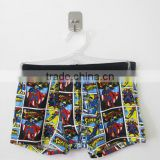 Custom Full Printed Sublimation Cotton Children Underwear Brand Logo on Elastic Waistband Kids Briefs Thongs