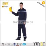 safety workwear manufacturer 6OZ navy blue FR fire fighting suit nomex suits