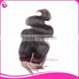 cheap goods from china brazilian lace hair closure free parting lace closure 3 way part closure 100 human hair
