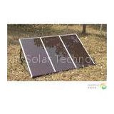 45W Sun Powered Small Solar Panel Systems For Lighting , Portable Solar Power Systems