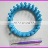 High quality plastic round loom knitting for DIY hat