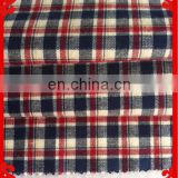 2014 fashion latest new Italy design pattern 100%cotton dobby check cvc t/c yarn dyed fabrics for shirt