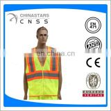 ANSI Hi vis Two-Tone Mesh Safety Warning Vest with pocket