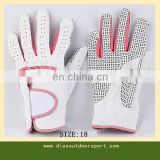 anti-slip ladies leather gloves