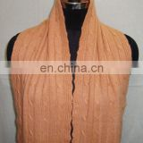 KNITTED CASHMERE SCARVES
