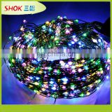 Christmas remote control led string lights for decoration