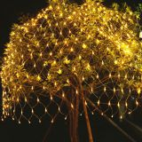 1.5M x 1.5M 96LEDs Net Light 220V / 110V Holiday Fairy Curtain String Light for Outdoor Home  Christmas decoration