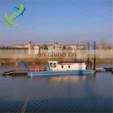 River used cutter suction dredger