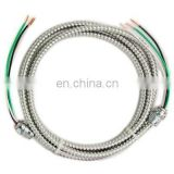 UL certificate low voltage 600V MC THHN THWN inner core armored power cable made in China