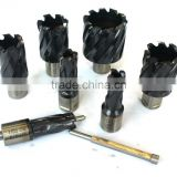 Magnetic drill cutting tools hss-e annular cutter with coating