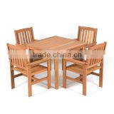 NEW DESIGN - outdoor bistro set - dinning set for small garden - wooden balcony furniture