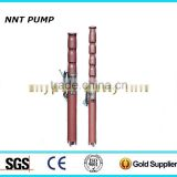 QJ Submersible borehole pump immersed water pump