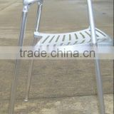 replica graceful Spanish Design accembly Aluminum Jorge Pensi stacking toledo chair for outdoor garden use