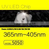 UVLED uv beads 1w led 5050 405nm with CE rohs LOW price