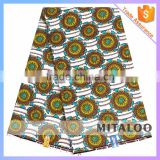 Mitaloo African Cotton Real Wax Printed Cloth African Indonesia Cotton Printed Fabric MH3022