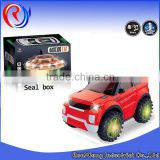 BO cartoon toys with light and music battery operated toy car