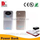 3200mah backup battery charger power pack case for camera battery light battery