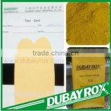 Colorful Ceramic Pigment for Glaze Tiles Ferrite Amarillo Synthetic Polvo