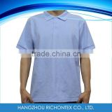 60%Cotton 40%Polyester O-Neck Polo T-Shirt in Los Angeles Warehouse                                                                         Quality Choice