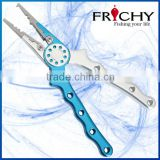 FRICHY FPB06S (7 INCH) Fishing Plier With SUS420J2 Stainless Steel Split Ring Jaws Fishing Tackle
