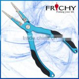 FRICHY FPD05R (6.5 INCH) With Rubber Insert And Skidproof Even Used With Water T 6061 Aluminum Fishing Plier