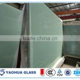 China alibaba interior door glass bathroom door glass 6mm+0.38PVB+6mm double glazing laminated glass