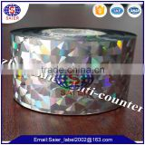 Hot Selling 3D Holographic Positioning hot stamping film made in China