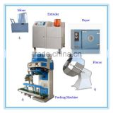 Multi-functional high quality factory price small capacity pet food production line in china