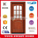 bedroom doors design aluminium frosted glass door                                                                                                         Supplier's Choice