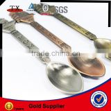 Europe custom metal souvenir spoon