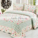 Brand new style pretty flowers bedding set patchwork quilt cotton quilt                                                                         Quality Choice