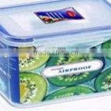 plastic kitchen plastic oblong food storage container 1000ml