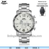 CT-1105 analog clock luxury sport men's stainless steel wrist watch water resistant quartz watch