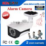 Kendom 2 megapixel IP Alarm Camera motion detection devices sd card with strong white leds color night vision