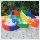 Custom GAY PRIDE GUMMY BRACELET wrist wristband band rubber lgbt lesbian rainbow flag                                                                         Quality Choice