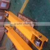 Outdoor building site portal crane end truck 5T 22.5M span single girder voltage customized motor 0.75kw
