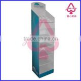 paper display box for hair brush/food display/cardboard display/display stand/bread display/ floor display