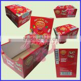 Folding Desktop PDQ display boxes Manufacturer/Counter cardboard paper display for Festival Candy