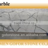 Cheap and High quality calacatta marble white,white marble slabs