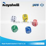 Sample available factory directly unfinished square corner blank wood block dice of Royalwill