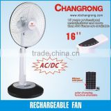 rechargeable stand fan remote control fan