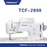 TOPEAGLE TCF-2898 2-Needle Working Foot Compound Feed Lockstitch sewing machine With Automatic Thread Trimmer