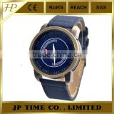 Casual Army Quartz Bronze Case Canvas Strap Mens Sports navy force Watch