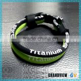 Useful high quality germanium 2 rope oem titanium bk-green