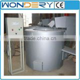 Gas-fired Stationary Crucible Copper Scrap Melting Furnace